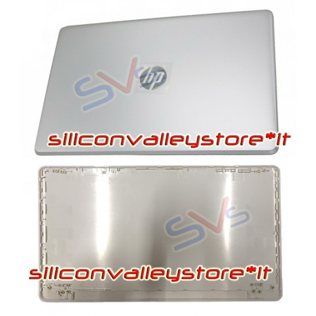 BACK COVER LCD PER NOTEBOOK HP 250 G6 - HP 255 G6   15-BS   15-BW SILVER