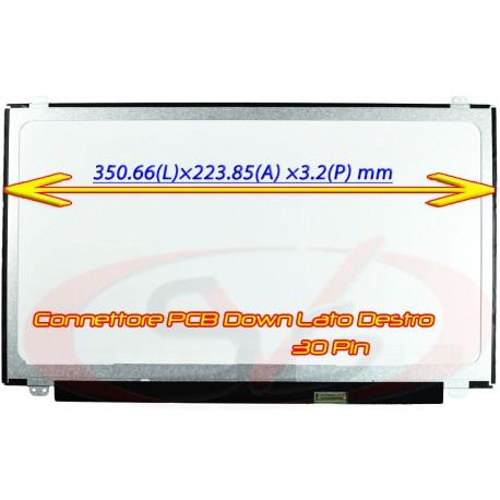 "Display per Notebook Slim LED da 15.6"" 1366*768 - 30pin"