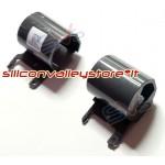 Copri Cerniere Hinge Caps per HP 250 G6 | 255 G6 | 15-BS | 15-BW | 15-BR Grigio