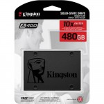 Hard Disk SSD 480GB SATA-III 2,5 Interno KINGSTON SA400S37/480G