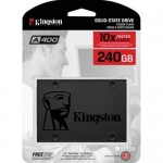Hard Disk SSD 240GB SATA-III 2,5 Interno KINGSTON SA400S37/240G