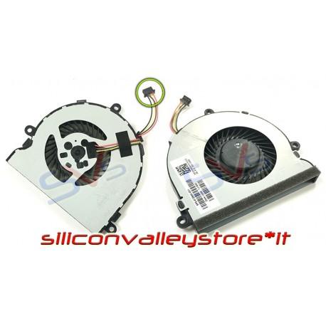 Ventola CPU Fan per Notebook HP 15-ac 15-af 15-ay 15-ba 250 G4 250 G5 255 G4 255 G5 256 G4