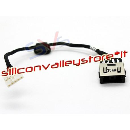 Connettore Alimentazione DC Power Jack LENOVO PJ754 G50-80 G50-85 G50-70 23cm