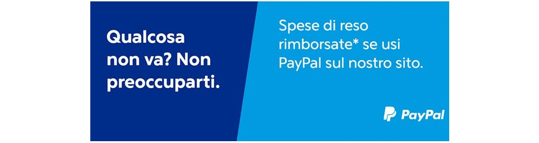 Rimborso Spese di reso se paghi con paypal